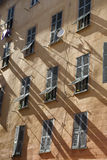 Old windows in Nice Royalty Free Stock Photo