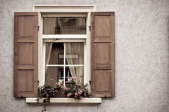 Old Windows and Shutters Stock Images