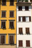 Old windows in Tuscany, Italy Royalty Free Stock Photography