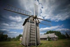 Old windturbine Stock Images