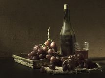 Old wine royalty free stock photo