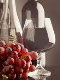 Old wine. stock photography