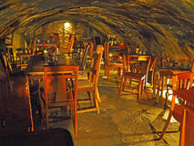 Old Wine Bar Cave in London, England Royalty Free Stock Photos