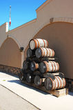 Old wine barrel. Royalty Free Stock Photography
