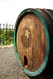 Old wine barrel Royalty Free Stock Photos