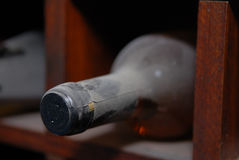 Old wine bottle Royalty Free Stock Photo