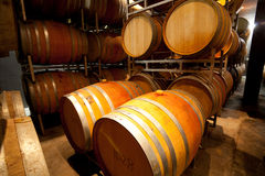 Old wine cellar Stock Photography