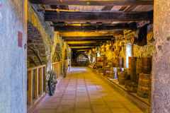 Old wine cellar Stock Image