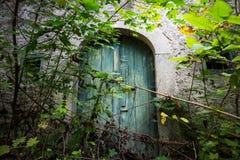Old wine cellar door Royalty Free Stock Photo