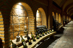 Old wine cellar Royalty Free Stock Photo