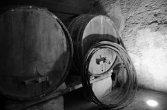 Old wine cellars Stock Photography