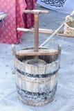 Old wine press Stock Image