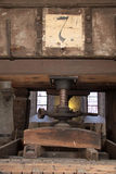Old wine presses on vineyard Royalty Free Stock Images