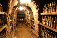 Old Wine from Tokai valley Royalty Free Stock Images