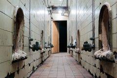 Old winery house corridor Stock Image