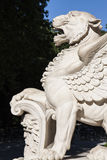 Old winged lion Royalty Free Stock Image