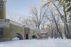Old Winter Antique Building Stock Photography