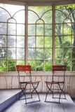 Old winter garden Royalty Free Stock Photo