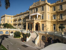 Old Winter Palace Hotel. Luxor. Egypt stock image