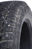 Old Winter tire Royalty Free Stock Photos