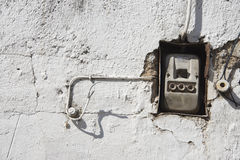 Old wiring Royalty Free Stock Image