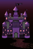 Old witch castle Royalty Free Stock Image