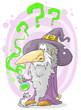 Old wizard Royalty Free Stock Photography