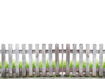 Old wod fence Stock Images