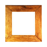 Old wodden frame royalty free stock photos
