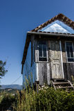 Old Wodden house. On top Royalty Free Stock Photo