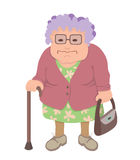 Old_woman Royalty Free Stock Photography