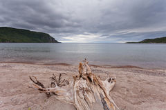 Old Woman Bay Lake Superior Ontario Canada Stock Photography