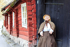 Old woman doll Stock Photos
