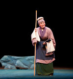 Old woman-Jiangxi opera: Breeze Pavilion Stock Image