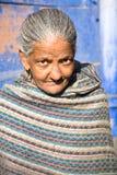 Old woman, Jodhpur, India Stock Photos