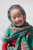 Old woman, Kathmandu Royalty Free Stock Photo