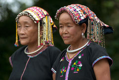 Old woman Khmu hill tribe . Royalty Free Stock Photo
