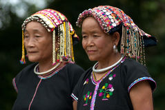 Old woman Khmu hilltribe . Royalty Free Stock Photo