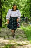 Old Woman from Maramures Royalty Free Stock Photos