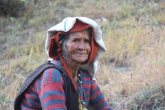 Old Woman of the Mountains. Stock Photos