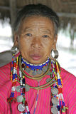 Old Woman from the Palong tribe, Thailand Royalty Free Stock Photos