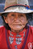 Old woman in Peru. July 31, 2010 Stock Photo