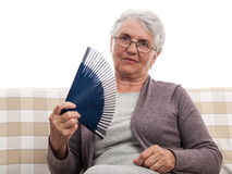 Old woman portrait Royalty Free Stock Photography