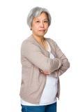 Old woman portrait Stock Photos