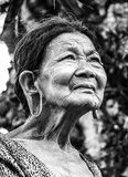 Old Woman, Portrait, Vietnam Royalty Free Stock Photography