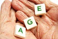 Old Woman's Hands Royalty Free Stock Image