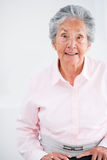 Old woman smiling Stock Photos