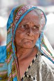 Old woman from Sri Lanka Royalty Free Stock Photography