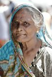 Old woman from Sri Lanka Royalty Free Stock Image