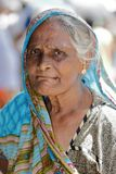 Old woman from Sri Lanka Stock Photography